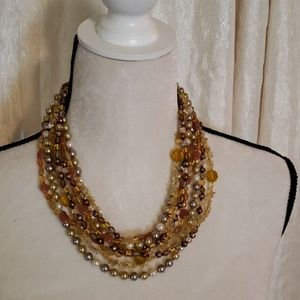 Joan Rivers Gemstone Necklace Set of 4